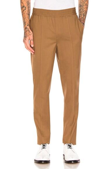Fine Bistretch Gabardine Trousers