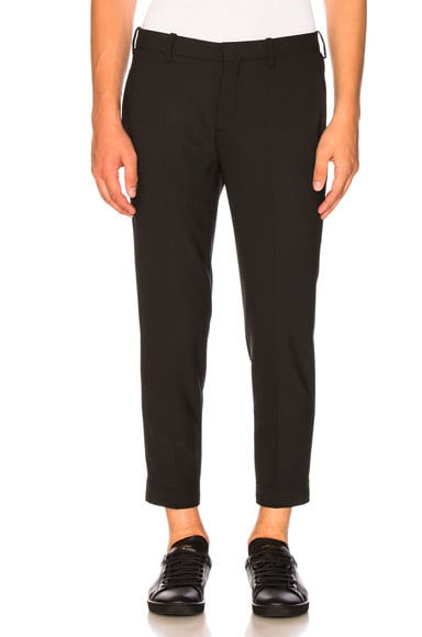 Zip Hem Skinny Pants