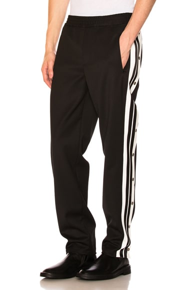 Sporty Snap Track Pants