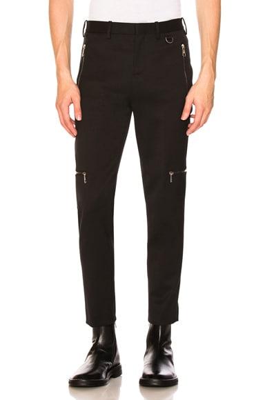 Multi Zip Super Skinny Trousers