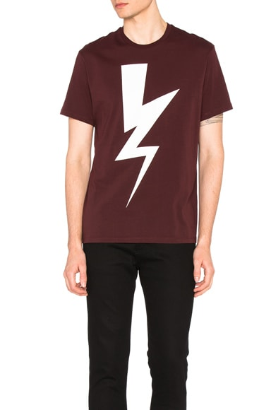 Abstracted Bolt Tee