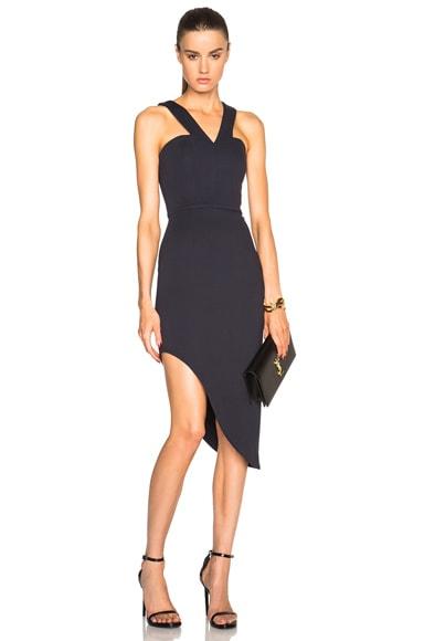 Side Curve Strap Dress