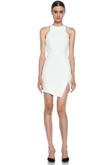 Wrap Skirt Silk Dress