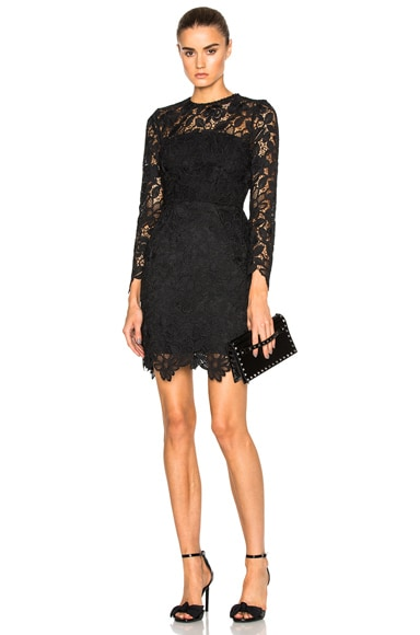 Wallpaper Lace Mini Dress