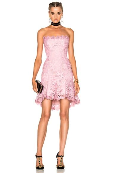 Bellflower Strapless Mini Dress