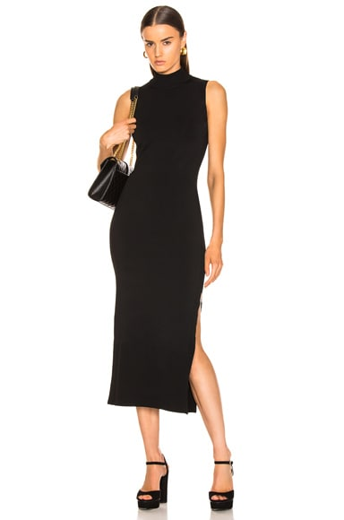 Compact Column Slit Dress