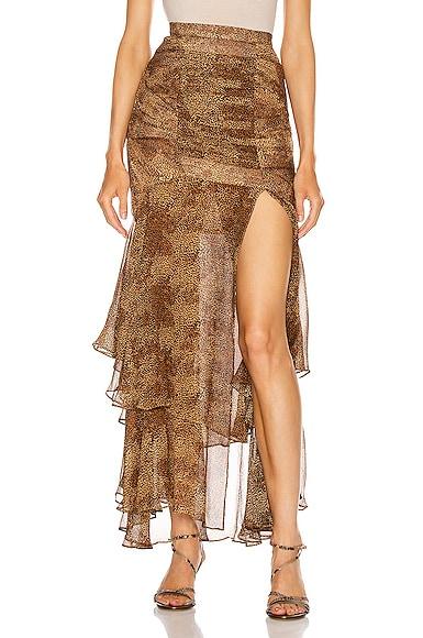 Tuck Front Skirt