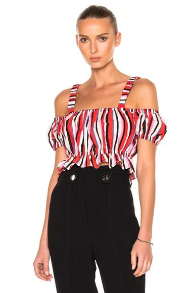 Amalfi Stripe Rosie Top
