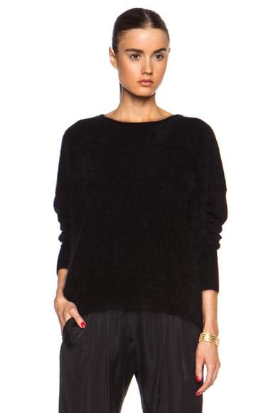 Oversized Angora-Blend Sweater