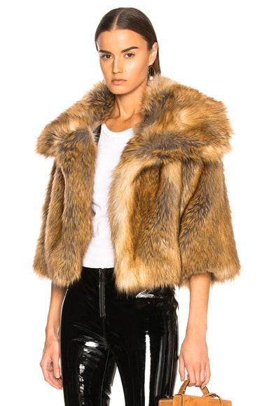 Garbo Faux Fur Coat