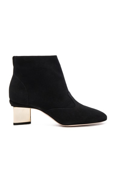 Suede Prism Ankle Booties