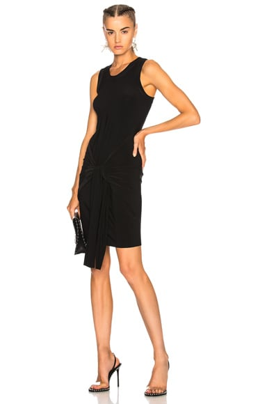 Racer Side Tie Dress