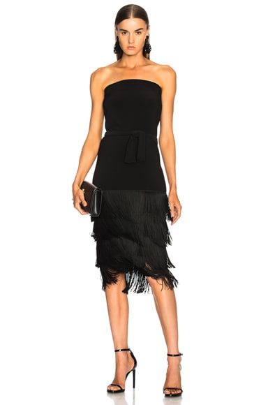 Fringe All In One Dress