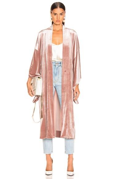 Midcalf Velvet Robe