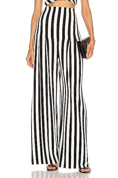 High Waist Pleat Pant