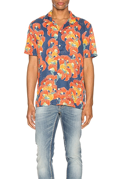 Arvid Flowers Short Sleeve Shirt