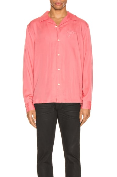Nudie Jeans T-shirts NUDIE JEANS VIDAR NJCO SHIRT IN PINK