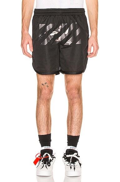 Caravaggio Arrow Mesh Shorts