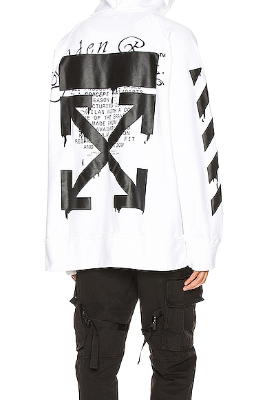 Dripping Arrows Incomp Hoodie