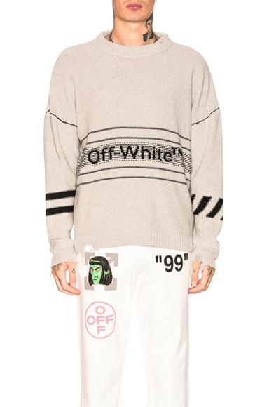 Cotton Off-White Sweater
