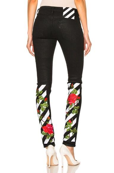 Roses Skinny Jeans