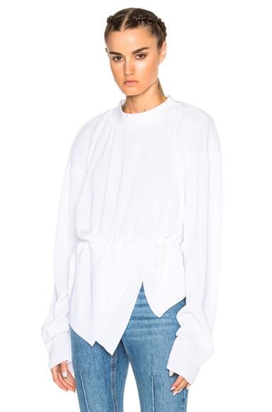 Small Pleats Sweater