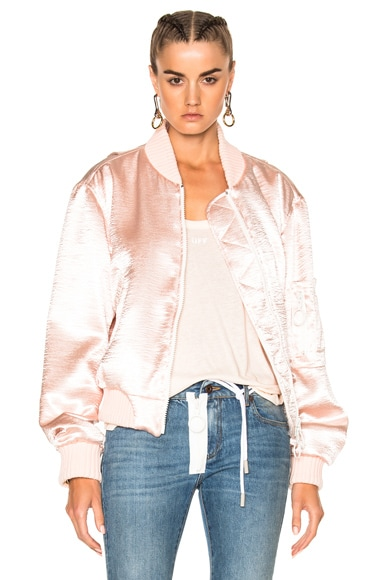for FWRD Shiny Bomber Jacket