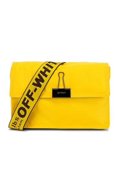 Nylon Zipped Flap Bag