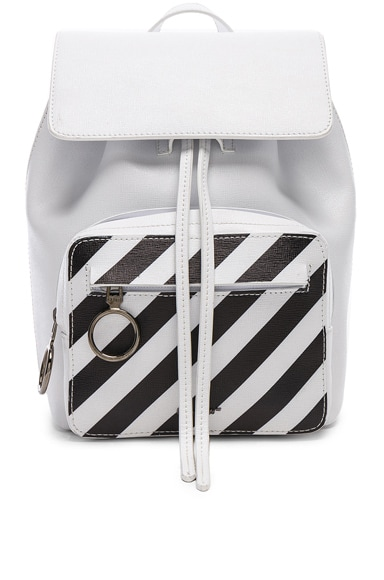 Mini Diagonal Backpack