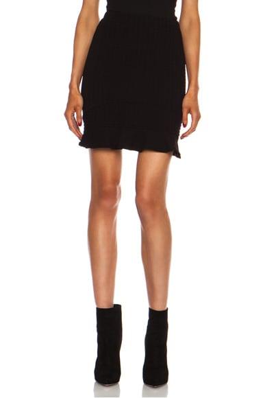 Snowe Insert Mini Viscose-Blend Skirt