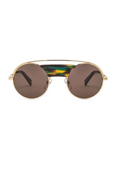x Alain Mikli Round Sunglasses