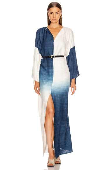 Long Sleeve Caftan Dress