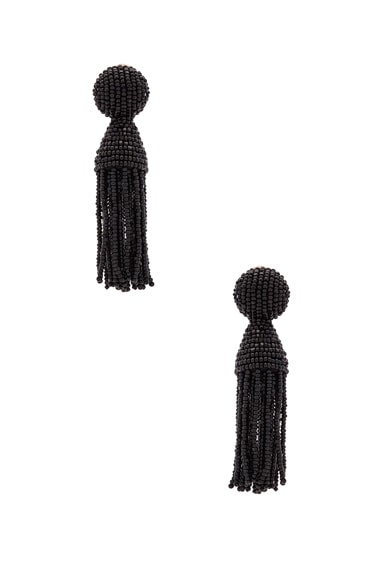 Classic Short Tassel Earrings