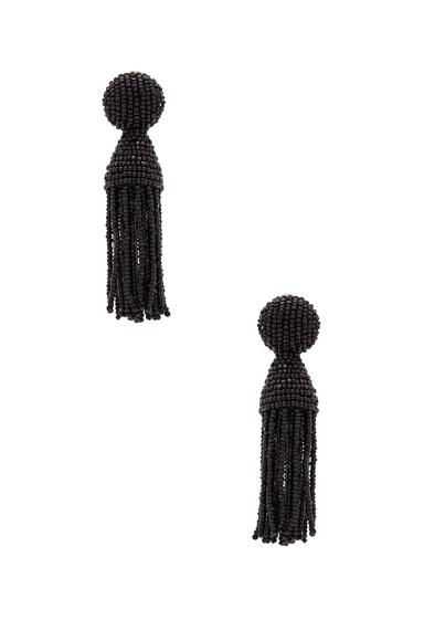 Classic Short Tassel Earrings