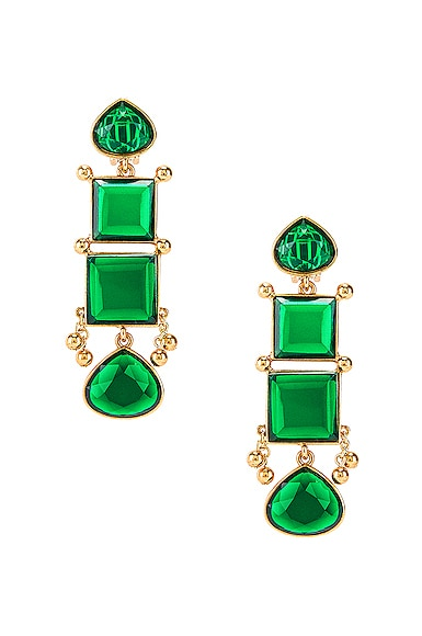 Bold Square Earrings