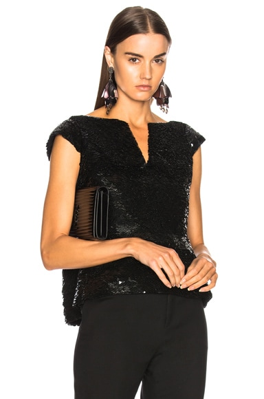 for FWRD Sequin Peplum Top