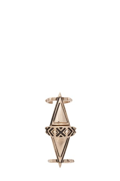 Articulated Pyramid Ring