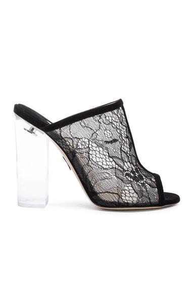 Lace Celeste Heels