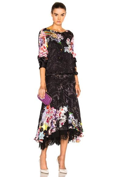 Abigail Lace Hem Dress