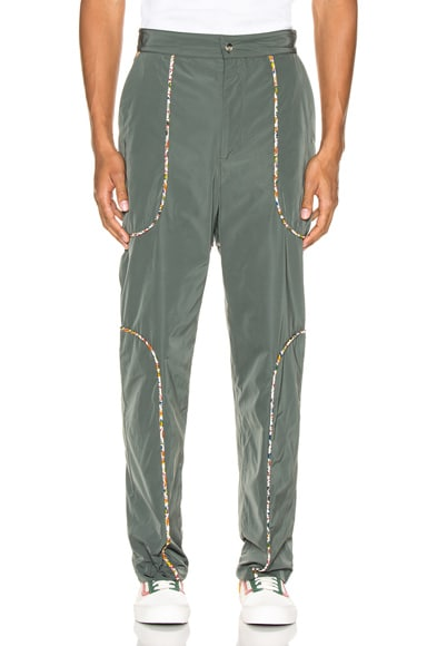 Piping Suit Trousers