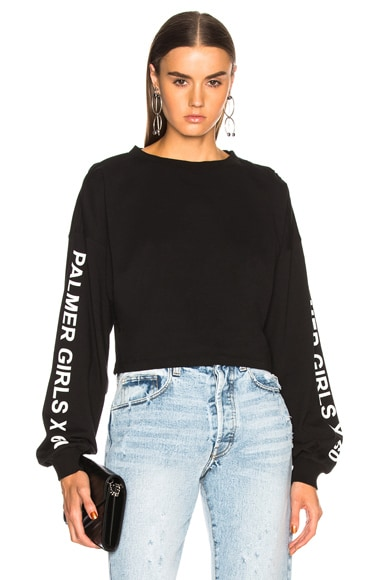 Long Sleeve Crop Tee