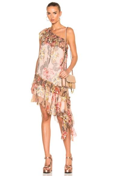 One Shoulder Asymmetrical Dress