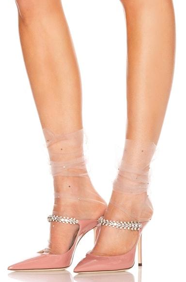 Ghost Italian Nylon Tulle Socks