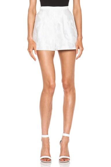Grace Cotton-Blend Shorts