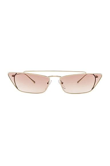 Rectangular Cat Eye Sunglasses