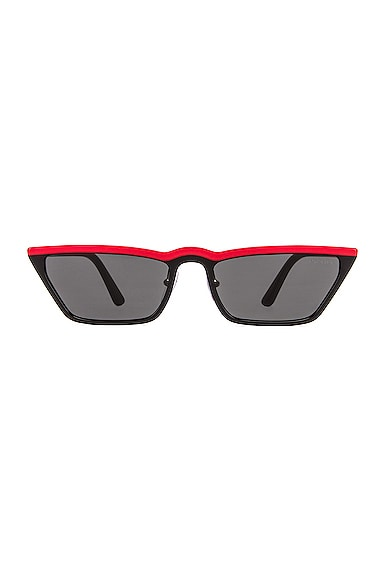 Acetate Low Angle Cut Sunglasses
