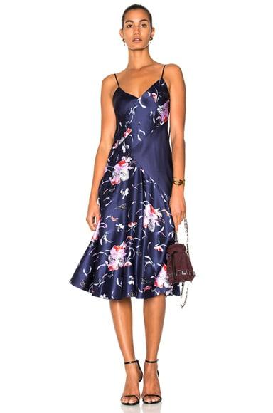Combo Slip Dress