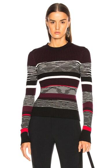 Space Dye Knit Sweater