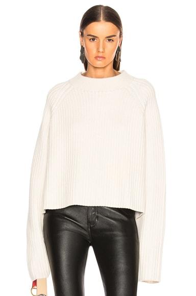 Cashmere Blend Mockneck Sweater