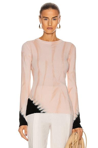 Tie Dye Long Sleeve Sweater